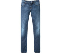 Bluejeans Comfort Fit Baumwoll-Stretch jeansblau