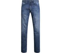 Jeans, Modern Fit, Baumwoll-Stretch,