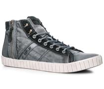 Schuhe Sneaker Textil rauchblau