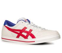 Herren Schuhe Sneaker Canvas weiß weiß,blau