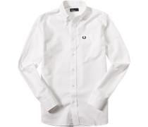 Hemd Baumwolle off white