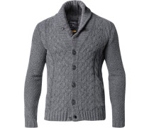 Cardigan Woll-Mix meliert
