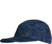 Cappy, Baumwoll-Cord, dunkelblau