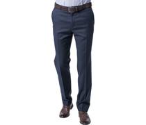 Hose Modern Fit Schurwolle Super110 REDA dunkelblau