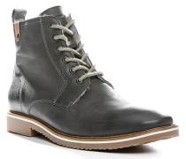 Herren Schuhe STEVEN Büffel-Kalbleder warm gefüttert grau grau,weiß