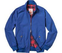 Jacke Blouson Baumwolle COOLMAX® königsblau