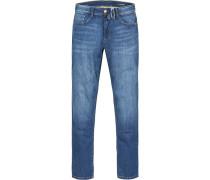 Jeans Modern Fit Baumwoll-Stretch denim