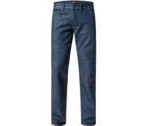 Jeans Baumwoll->Stretch mittelblau