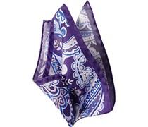 Herren Accessoires  Einstecktuch Seide paisley violett