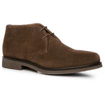 Herren Schuhe Desert Boots Veloursleder haselnussbraun braun,beige