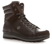 Herren Schuhe Stiefel Kalbleder-Nylon-Mix braun braun,beige,blau,orange,rot