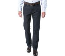 Jeans Modern Fit Denim Stretch dunkelblau