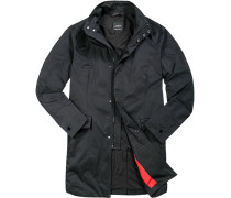 Mantel Baumwolle nachtblau