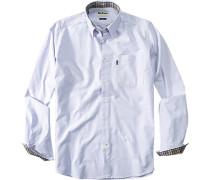 Hemd,Tailored Fit, Baumwolle, hellblau