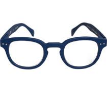 Brillen Lesebrille C, Kunststoff, royal