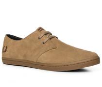 Schuhe Sneaker Veloursleder hellbraun