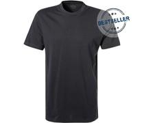 T-Shirt Pima-Baumwolle nachtblau