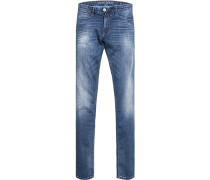 Blue-Jeans Slim Fit Baumwolle