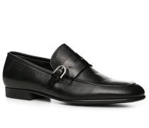 Schuhe Loafer, Leder,