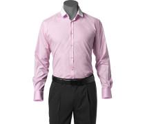 Hemd, Slim Fit, Popeline, rosa