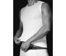 Unterwäsche Tanktop Baumwoll-Stretch weiß oder schwarz oder