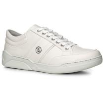 Schuhe Sneaker Leder weiß