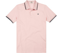 Polo-Shirt Polo Regular Fit Baumwoll-Piqué rosé