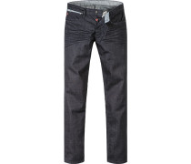Jeans Robin Slim Fit Baumwoll-Stretch dunkelblau