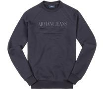 Sweatshirt Baumwolle nachtblau