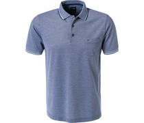 Polo-Shirt Polo Modern Fit Baumwoll-Piqué dunkelblau