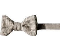 Krawatte Schleife Wolle-Seide meliert