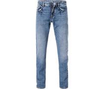 Jeans, Modern Fit, Baumwolle,