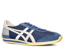 Schuhe Sneaker Textil marine