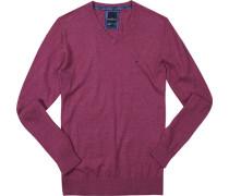 Pullover Pulli Baumwolle purpur