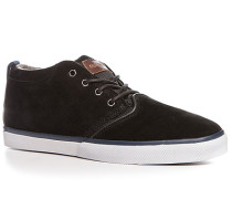 Schuhe Sneaker Veloursleder-Textil