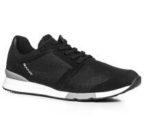 Herren Schuhe Sneaker Mesh schwarz