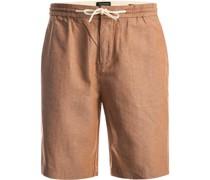 Shorts Baumwolle-Leinen