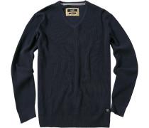 Pullover Pulli Baumwoll-Mix marine
