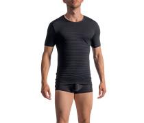 T-Shirt, Microfaser, gestreift