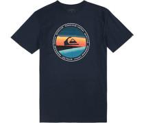 T-Shirt, Regular Fit, Baumwolle, navy