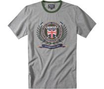 T-Shirt Polo Club Hellgrau