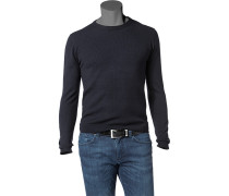Pullover Wolle nachtblau