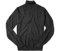 Pullover, Merinowolle, anthrazit