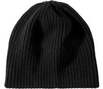 Herren  strellson Mütze Woll-Mix schwarz