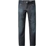 Herren Jeans Rick Baumwoll-Stretch jeansblau