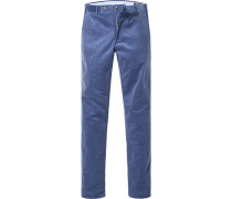 Hose Cord-Chino Slim Fit Baumwolle