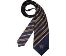 Herren Krawatte  blau,braun