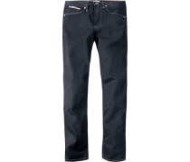 Jeans Baumwolle nachtblau