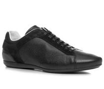 Schuhe Sneaker Kalbleder schwarz