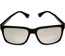 Brillen Sonnenbrille verspiegelt, Kunststoff,